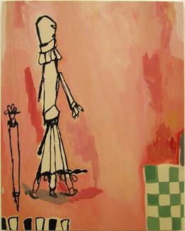 mute libertine 01 (2003, 40.0x50.0cm, canvas, acrylic)