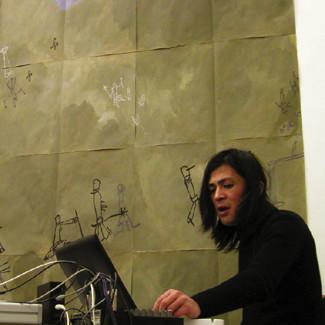 Yurihito Watanabe - mutes liber - inaudible sound performance 03