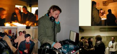 """Vernissage in """"Biblioscape"""": DJ:Detlef Weinrich, from """"kreidler"""""""
