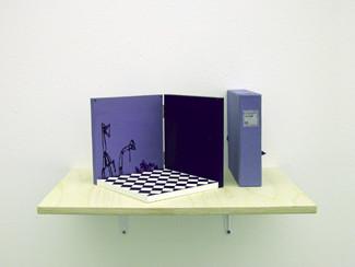 "mutus liber ""Triptych 01"" 2002"