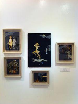 """melancholic mania"" exhibition view"