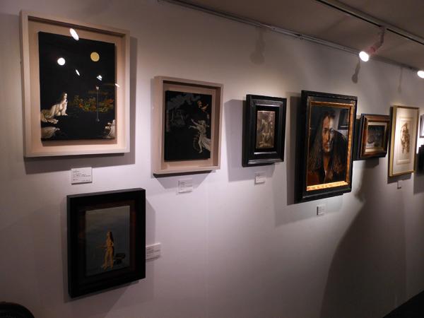 Mimesis exhibition view